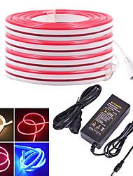 baratos -KWB 4m Faixas de Luzes LED Flexíveis 480 LEDs SMD3528 Branco Quente / Branco / Vermelho Impermeável / Criativo / Cortável 12 V 1conjunto