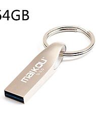 Недорогие -ключ ключ высокоскоростной usb3.0 флэш-накопитель mobile u диск 64 ГБ