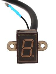 Недорогие -6-ступенчатая цифровая индикация переключения передач датчик рычага переключения передач мотоцикл мотокросс универсальный