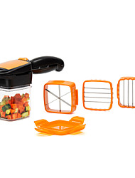Недорогие -овощерезка, 5 в 1 фруктовый нож измельчитель нож колонка яйцо резак дробилка идеально подходит для кухни приготовления новогодний ужин