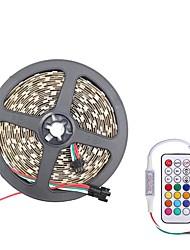 Недорогие -Brelong smd5050 10 мм 5 м 300led корпус водонепроницаемый свет бар 21 ключ инфракрасный контроллер