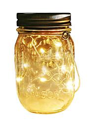 Недорогие -2м Гирлянды 20 светодиоды SMD 0603 Тёплый белый / Белый / Разные цвета Водонепроницаемый / Работает от солнечной энергии / Для вечеринок Солнечная энергия 1 комплект