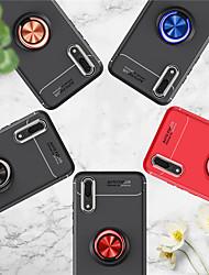billige -CISIC Etui Til Huawei P20 Pro / P20 lite Stødsikker / Støvsikker / Belægning Bagcover Ensfarvet Hårdt TPU for Huawei P20 / Huawei P20 Pro / Huawei P20 lite