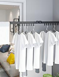 Недорогие -Держатель для полотенец Регулируемая длина / Складной / С компактным кабелем Современный Алюминий 1шт - Ванная комната На стену