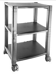 Недорогие -Мобильная подставка для принтера на 3 полки с черным ящиком для органайзера