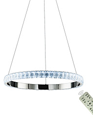 Недорогие -подвесные светильники современные светодиодные подвесные светильники светодиодные люстры светильники кристалл подвесные светильники крытый светодиодное освещение для дома 110-120 В / 220-240 В