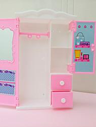 Недорогие -Кукла Барби Шкаф с Baby Doll и одиннадцать платья