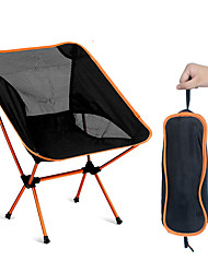 Недорогие -SWIFT Outdoor Складное туристическое кресло Компактность Дышащий Ультралегкий (UL) Складной Сетка Оксфорд 7075 Алюминиевый сплав для 1 человек Отдых и Туризм Рыбалка Пляж  Пикник Осень Весна