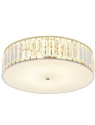 baratos -OYLYW 5-luz Apliques de Tecto Luz Ambiente Galvanizar Metal Acrílico Cristal, Novo Design 110-120V / 220-240V