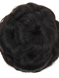 baratos -Acessórios Para Peruca / Peça para Cabeça / Acessório para Fantasia Decoração de Cabelo / Casamento Bolo de cabelo Vestir fácil / Casamento / Updo Com Presilha Cabelo Sintético Pedaço de cabelo
