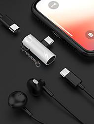 Недорогие -2 в 1 наушник для зарядки музыки type-c 3,5 мм аудио адаптер кабель для Samsung Huawei Xiaomi Sony HTC Motorola Ect.