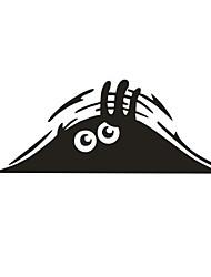 Недорогие -Черный Автомобильные наклейки Мультяшная тематика Дверные наклейки Мультипликация Стикеры