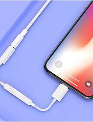 Недорогие -Для iphone 7 8 x Apple интерфейс для 3,5 мм AUX разъем для наушников адаптер Bluetooth аудио кабель конвертер разветвитель для наушников