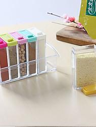 Недорогие -1 комплект Хранение сыпучих продуктов Пластик Прост в применении Other