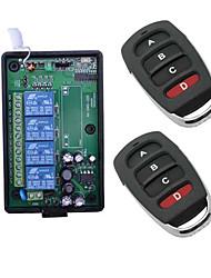 Недорогие -интеллектуальный коммутатор ak-04-220 + ak-1304a для гостиной / внутреннего двора / для ежедневного творчества / простота установки / беспроводное использование дистанционное управление 110-150 В /