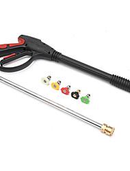 Недорогие -мойка высокого давления газовый пистолет для чистки автомобиля комплект насадок / палочек и 5 распылительных насадок 4000 фунтов / кв. дюйм