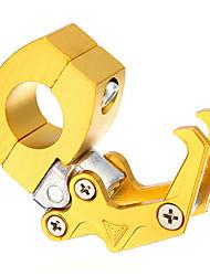 Недорогие -Алюминиевый чпу 7/8 дюймов 22 мм руль мотоцикла камера шлем вешалка крюк