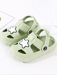 billige -Drenge / Pige Syntetisk Sandaler Toddler (9m-4ys) Komfort Blå / Lys pink / Lys Grøn Sommer