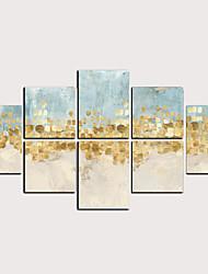 Недорогие -С картинкой Роликовые холсты - Абстракция Классика Modern Репродукции