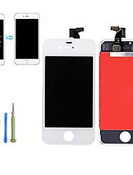 Недорогие -2019 новая замена жк-дисплей с сенсорным экраном дигитайзер в сборе комплект передней панели с инструментами разборки для iphone 4 / 4s qyqfashion