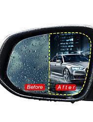 Недорогие -2шт автомобильное зеркало заднего вида защитная пленка нано покрытие от дождя анти-туман 175x200 мм