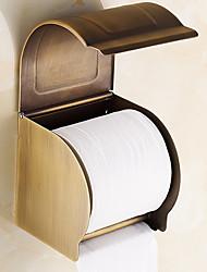 Недорогие -Держатель для туалетной бумаги Креатив Современный Латунь 1шт На стену