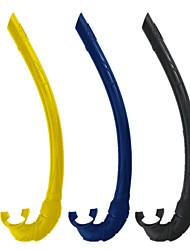 Недорогие -Трубки Мягкость Дайвинг Силикон - для Взрослые Синий Черный Желтый