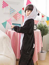 abordables -Enfants Garçon Bloc de Couleur Coton Vêtements de nuit Noir