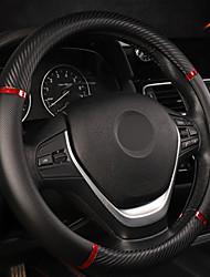 Недорогие -универсальный чехол на руль автомобиля искусственная кожа удобный нескользящий чехол на руль автомобиля