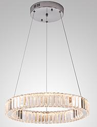 Недорогие -светодиодные хрустальные подвесные светильники потолочные светильники с регулируемой яркостью лампы современного домашнего декора подвесные люстры подвесной светильник 110-120 В / 220-240 В