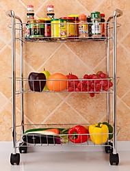 baratos -Alta qualidade com Aço Inoxidável Prateleiras e Suportes Para utensílios de cozinha Cozinha Armazenamento 2 pcs