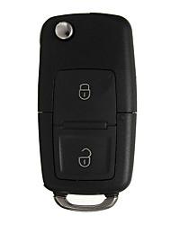 Недорогие -2 кнопки флип дистанционного ключа чехол автомобильный корпус с отверткой для VW