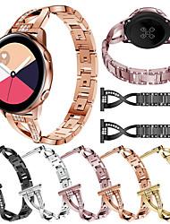Недорогие -Ремешок для часов для Samsung Galaxy Watch 42 / Samsung Galaxy Active Samsung Galaxy Дизайн украшения Нержавеющая сталь Повязка на запястье