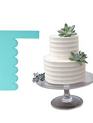 Недорогие -1шт пластик Новый дизайн День рождения Торты Для торта Прямоугольный Выпечка и кондитерские шпатели Инструменты для выпечки