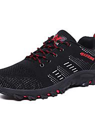 זול -בגדי ריקוד גברים נעלי טיולי הרים קל משקל נושם נגד החלקה תומך זיעה נוח צעידה הדרכה פעילה נסיעות ריצה ג'וגינג