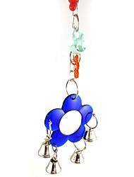 ราคาถูก -นก เกาะคอน&บันได Metal Pet Friendly / โฟกัสของเล่น / ของเล่นผ้า / ผ้า 30 cm