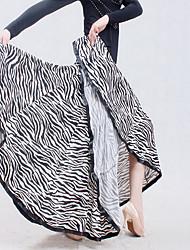 Недорогие -Бальные танцы Нижняя часть Жен. Учебный / Выступление Ice Silk (искусственное волокно) Комбинация материалов Юбки