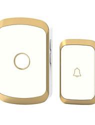 Недорогие -Karjas умный дом беспроводной дверной звонок обмен цифровой музыки дверной звонок дистанционного управления домом дверной звонок водонепроницаемый
