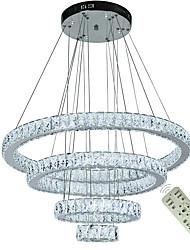 Недорогие -современные хрустальные люстры свет светодиодные люстры потолочные светильники крытый подвесные светильники дома подвесные светильники светильники 110-120 В / 220-240 В