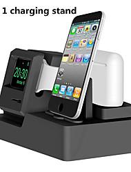 Недорогие -Док-станция для зарядки 3 в 1 док-станция для зарядки iwatch airpods док-станция для яблочных часов серии 3/2/1 / airpods / iphone x / 8 / plus / 7/7/6 / plus