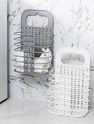 Недорогие -настенная складная корзина пластиковая настенная корзина для белья корзина для белья для хранения грязной одежды