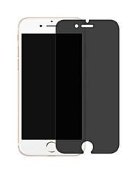 Недорогие -защитная пленка для экрана Apple iphone 6 / iphone 6 plus / iphone 6s закаленное стекло 1 передняя защитная пленка для ПК 9h твердость / 2,5d изогнутый край / конфиденциальность анти-шпион