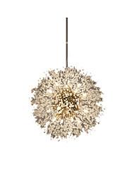 Недорогие -Современные подвесные светильники кристалл подвесной светильник декоративные подвесные светильники для столовой глобус подвесной светильник
