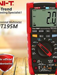 Недорогие -промышленный цифровой мультиметр с истинным среднеквадратичным значением uni-t ut195m / измерение температуры / измерение потерь