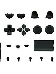 Недорогие -комплекты запасных частей игрового контроллера для кнопки замены ручки ps4 силикон / пвх (поливинилхлорид) / абс