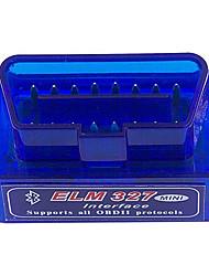 Недорогие -супер мини elm327 bluetooth v2.1 obd2 беспроводной автомобильный диагностический сканер универсальный инструмент автоматического сканирования obd ii работа на андроид