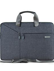 Недорогие -сумки / наплечные сумки сплошной цвет нейлона для MacBook 12 '' / MacBook Air 11-дюймовый