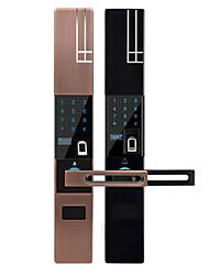 Недорогие -автоматический смарт-замок отпечатков пальцев цинковый сплав электронный замок оптовая продажа слайд смарт-дверной замок