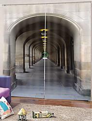 Недорогие -простой дизайн оптовая продажа 100% полиэстер ткань для штор толстые водонепроницаемые Mouldproof теплоизоляция плотные шторы для офиса / гостиной