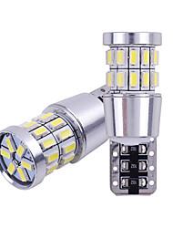 Недорогие -2 шт. T10 w5w светодиодные лампы 194 168 canbus без ошибок белый свет 3014 30 smd для интерьера автомобиля купол номерного знака свет лампы 12 В